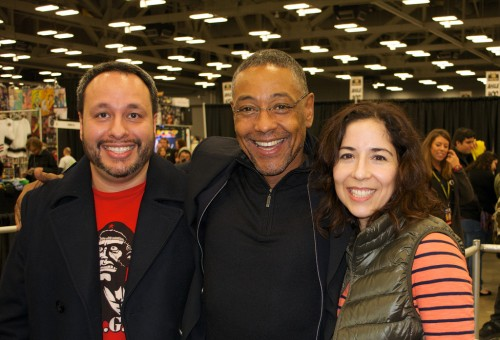The gentleman (Giancarlo Esposito) and us