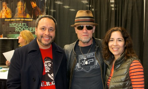 With Michael Rooker!