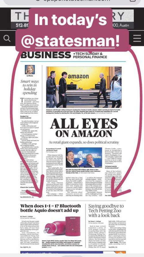 Statesman print page