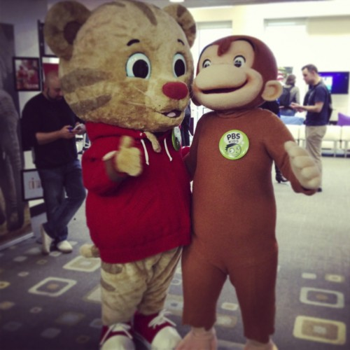 Daniel Tiger + Curious George