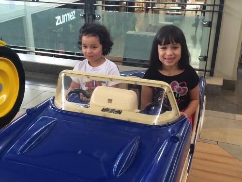 Kids in cars