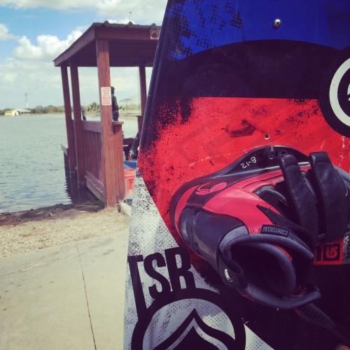 Before wakeboarding