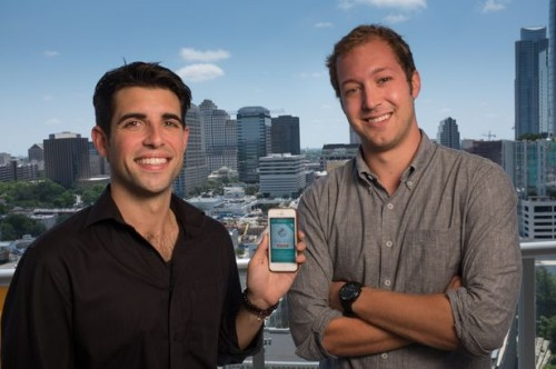 Colin Anawaty, left, and Jason Bornhorst are co-founders of Filament Labs. Photo by Mark Matson for the American-Statesman