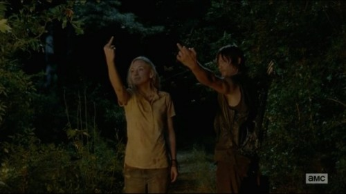 Walking Dead S4E12: Beth and Daryl get drunk-ass