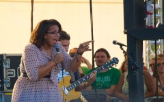 My favorite overall set of the fest, Alabama Shakes