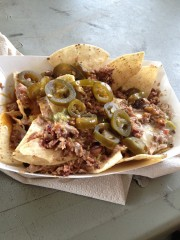 "Mmmm Salt Lick ""Dirty nachos."""