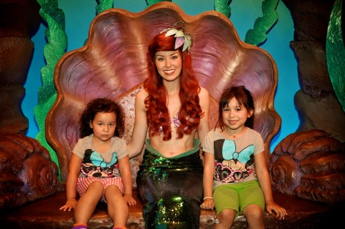 Ariel was all by herself in the grotto for hours at a time, which is not at all creepy.