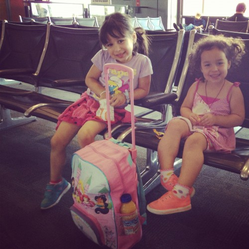 They loved the airport.
