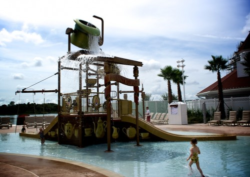 Just one example of the insanely awesome overkill of a Disney resort hotel.